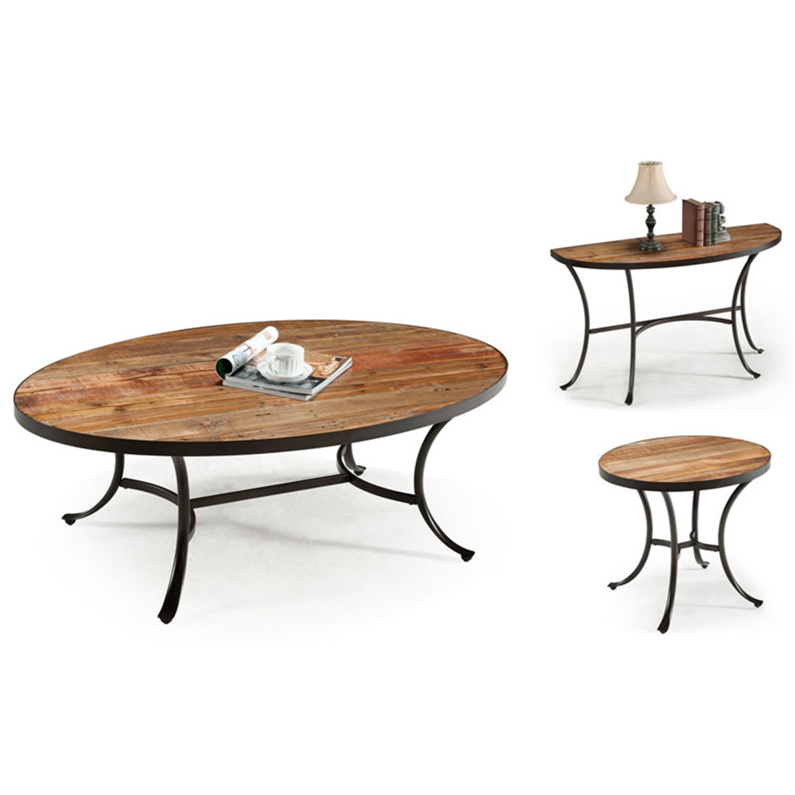 Berkeley Occasional Table Set by Emerald at Northeast Factory Direct