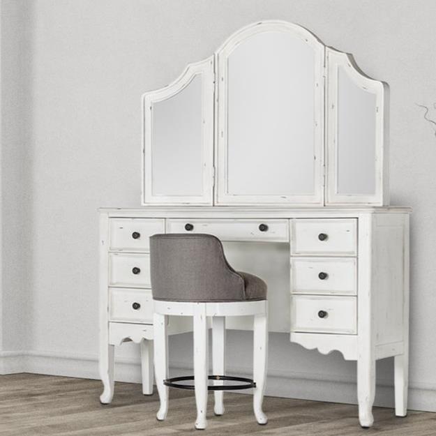 Vanity & Mirror Set