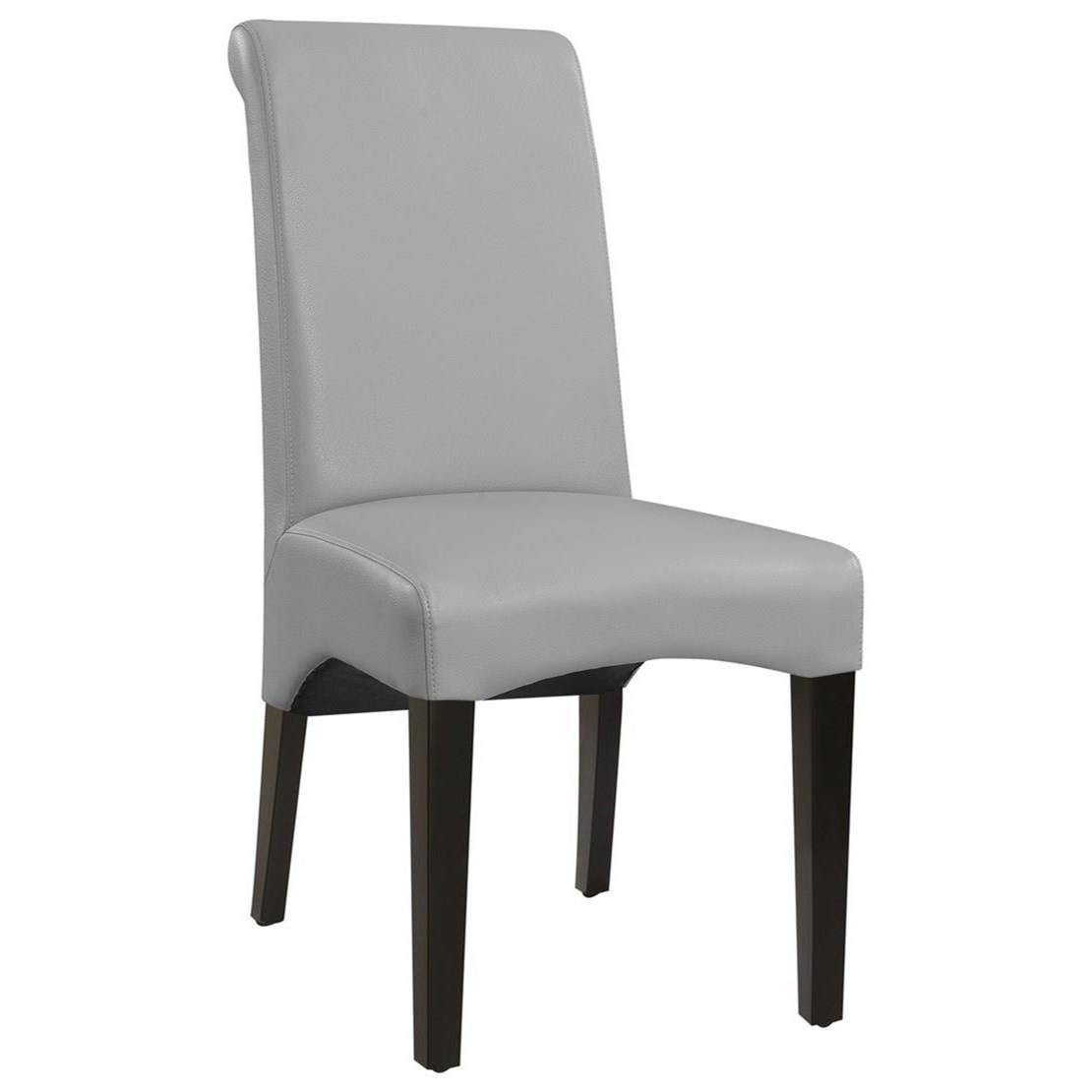 Briar II Dining Chair Upholstered Seat & Back by Emerald at Northeast Factory Direct