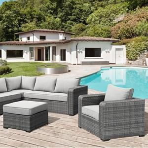 Lounge Chair  & Ottoman Set
