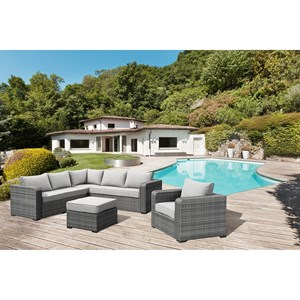 2 Piece Outdoor Chat Set