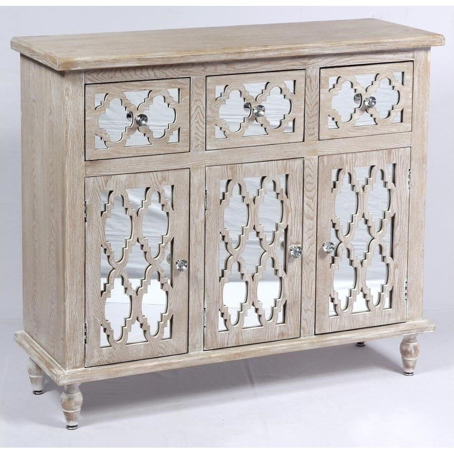 3 Drawer 3 Door Accent Chest