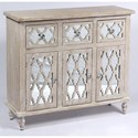 Emerald Canterwood 3 Drawer 3 Door Accent Chest - Item Number: AC701-01