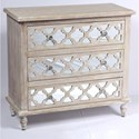 Emerald Canterwood 3 Drawer Accent Cabinet - Item Number: AC701-05