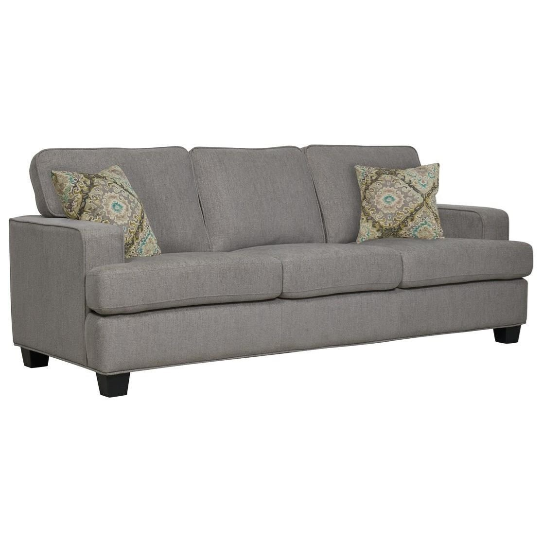 Sofa W/2 Accent Pillows