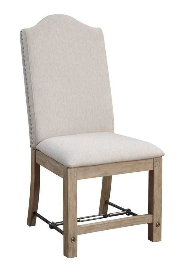Chair with Upholstered Seat and Back