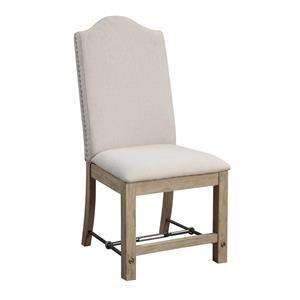 Emerald Castle Bay Chair with Upholstered Seat and Back