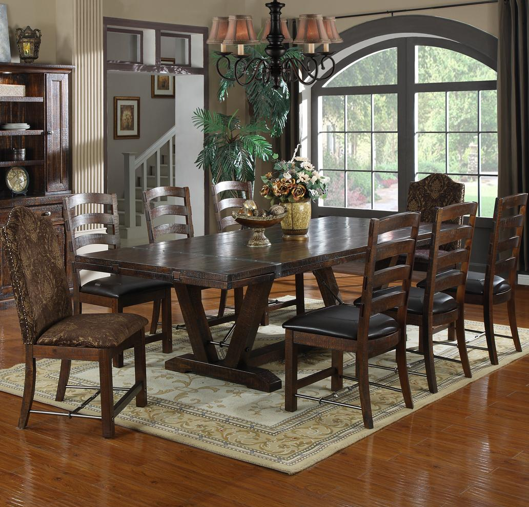 Castlegate 9 Piece Dining Set by Emerald at Northeast Factory Direct