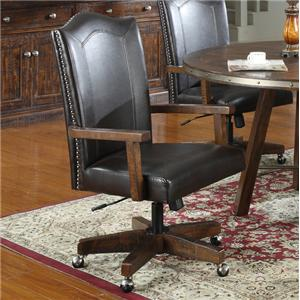 Emerald Castlegate Arm Chair with Casters