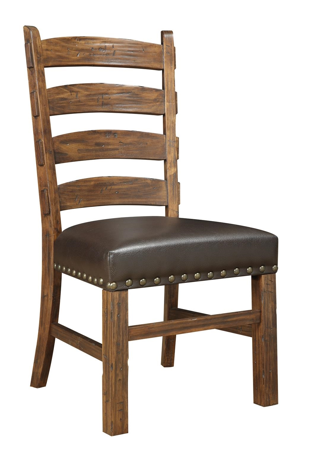 Chambers Creek Ladderback Side Chair by Emerald at Northeast Factory Direct