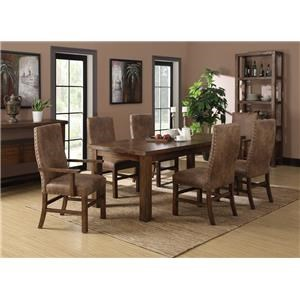 Emerald Chambers Creek Dining Table with Butterfly Leaf
