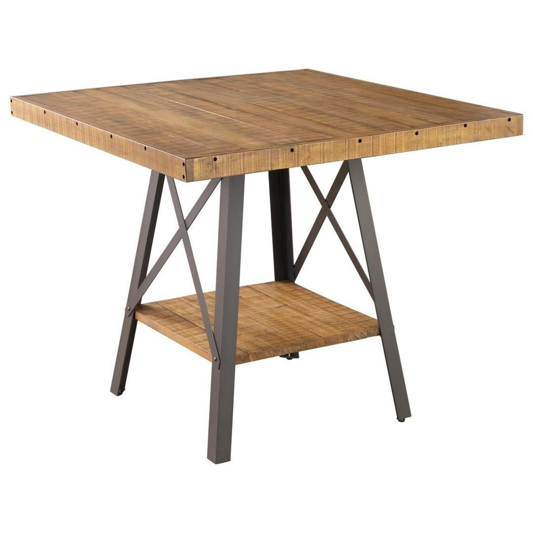Chandler Square Gathering Table by Emerald at Northeast Factory Direct