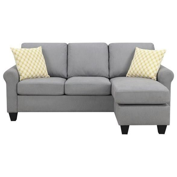 Claudette Sofa Chaise by Emerald at Northeast Factory Direct