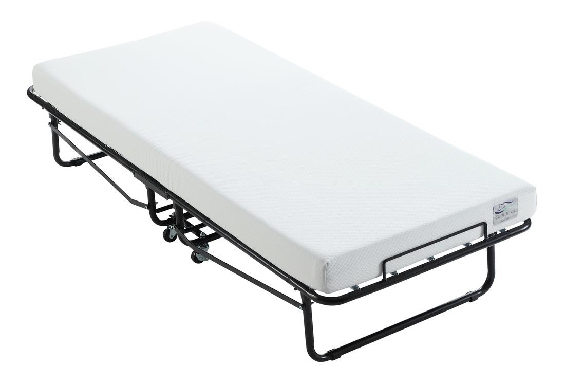 """Cool Jewel Rollaway Twin Bed with 4"""" Gel Mattress by Emerald at Northeast Factory Direct"""