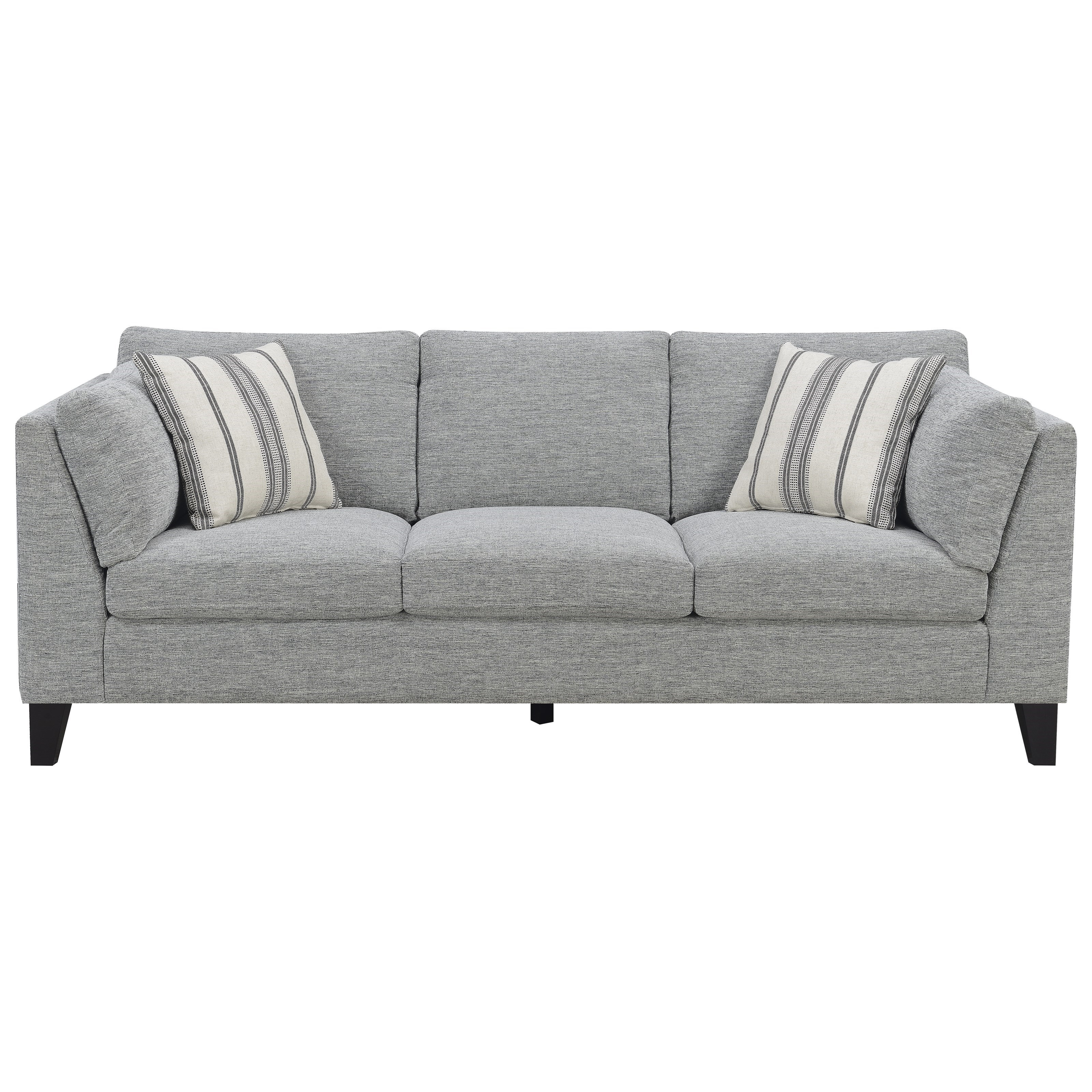 Sofa with 4 Accent Pillows