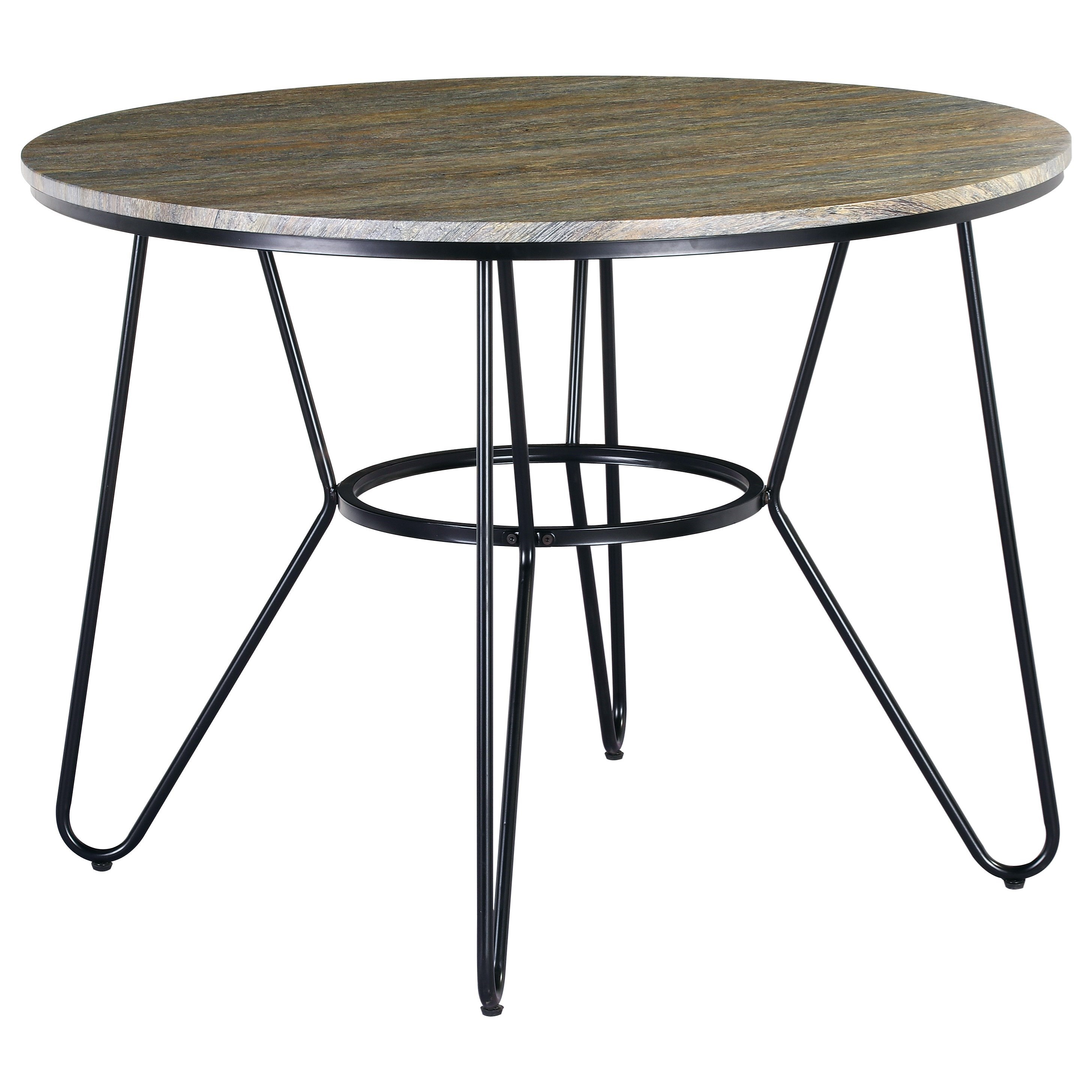 Emmett Round Dining Table by Emerald at Northeast Factory Direct