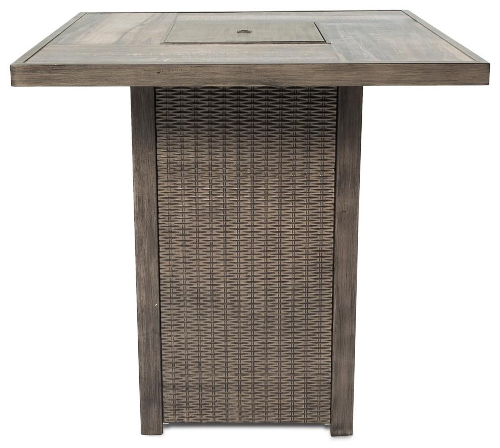 Outdoor Table w/ Firepit