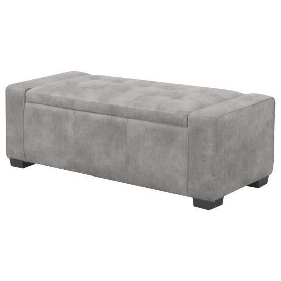 Gavyn Storage Bench by Emerald at Northeast Factory Direct