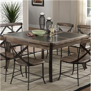 Metal Kitchen Table Metal kitchen table home design and decorating emerald lancaster piece rustic metal wood square dining table kitchen ideas workwithnaturefo