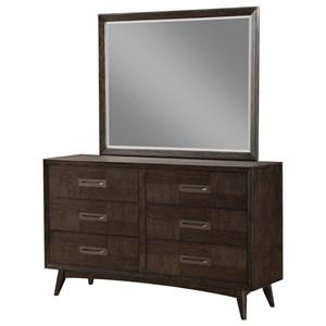 Emerald Millenium Dresser Mirror Combo