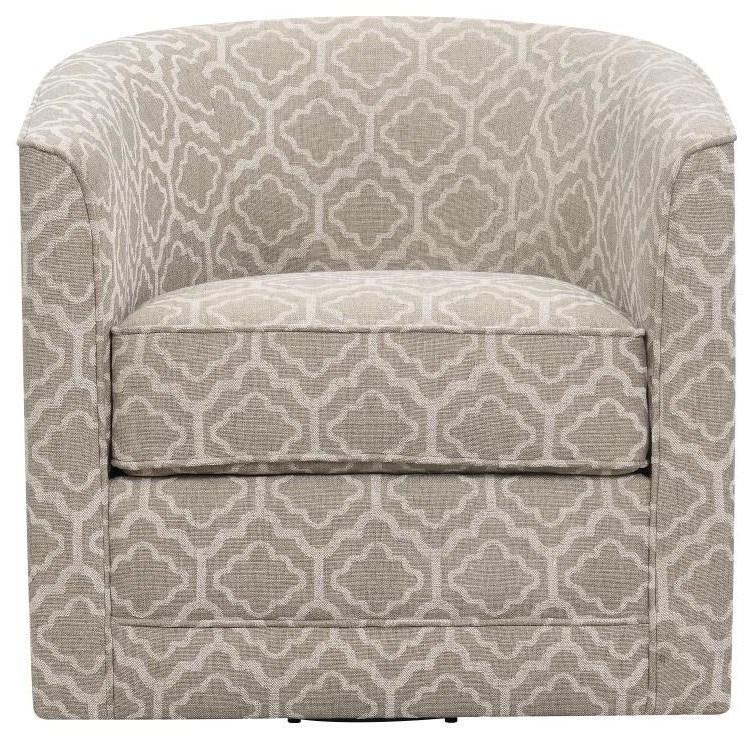 Swivel Chair BEIGE MULTI