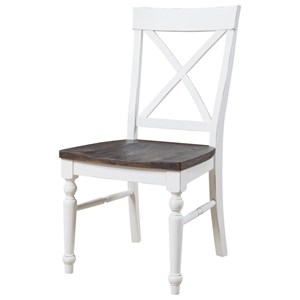 Emerald Mountain Retreat X-Back Dining Chair