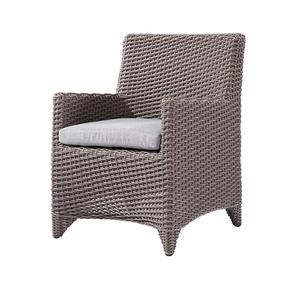 Emerald Outdoor Furniture DINING CHAIR SPUNCRYLIC BRICK GREY