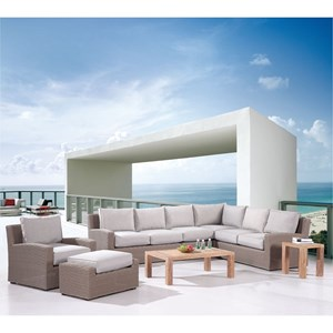 Emerald Reims Sectional and Table Group