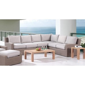 4PC Outdoor Sectional