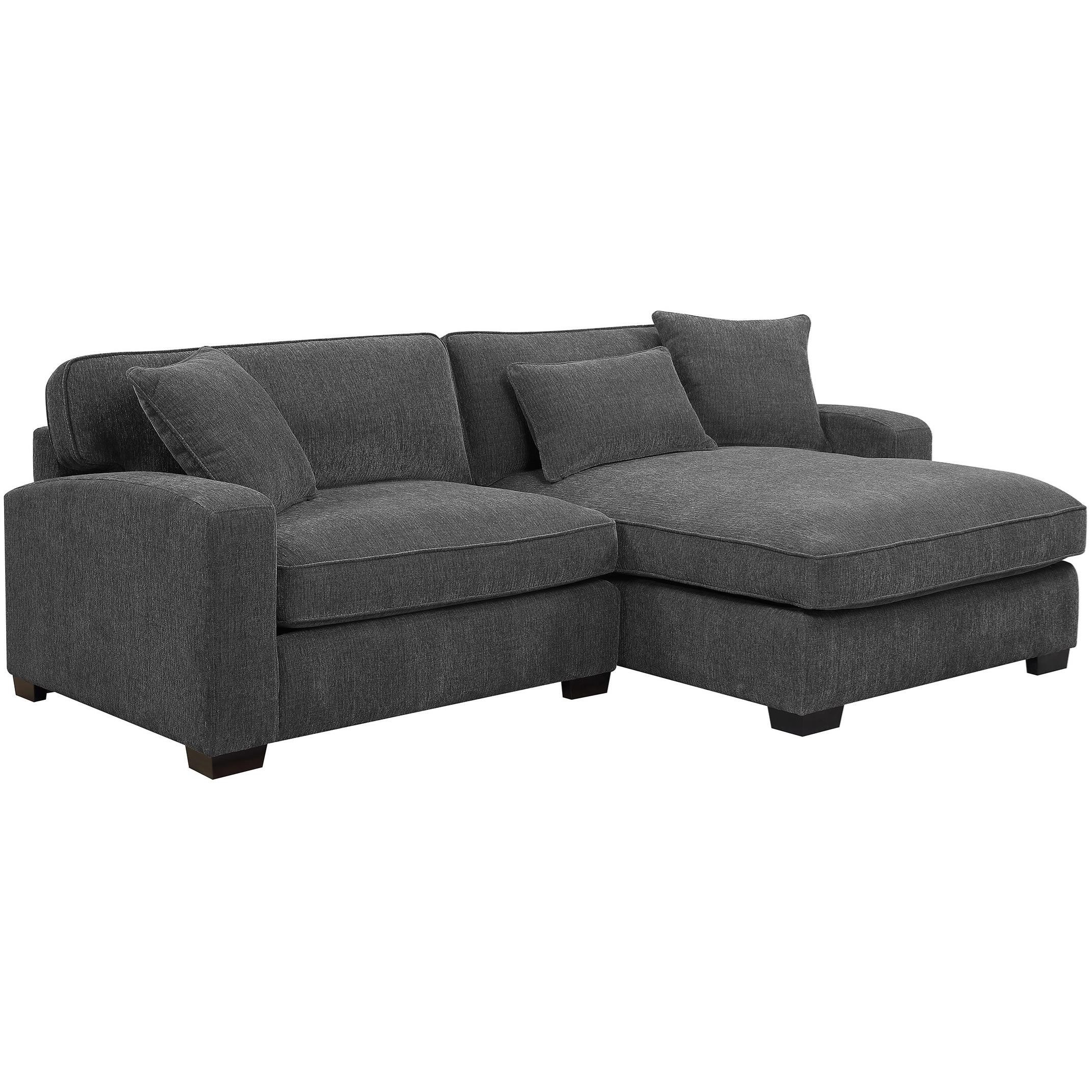 Emerald Repose Casual Two Piece Sectional Sofa With Raf