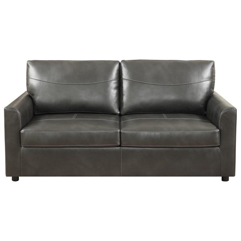 Slumber Full Sleeper Sofa w/ Gel Foam Mattress by Emerald at Wilson's Furniture