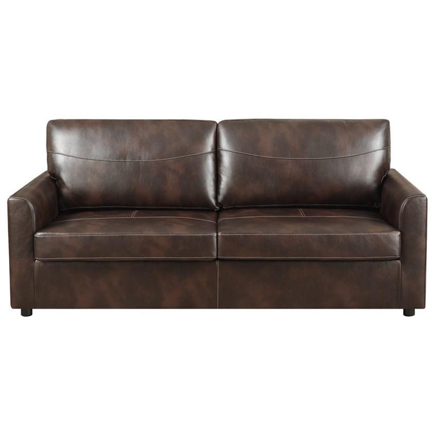 Queen Sleeper Sofa w/ Gel Foam Mattress
