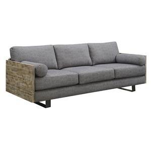 Emerald Interlude Charcoal Blue Sofa