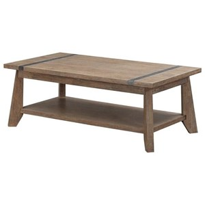 Emerald Viewpoint Rectangular Cocktail Table
