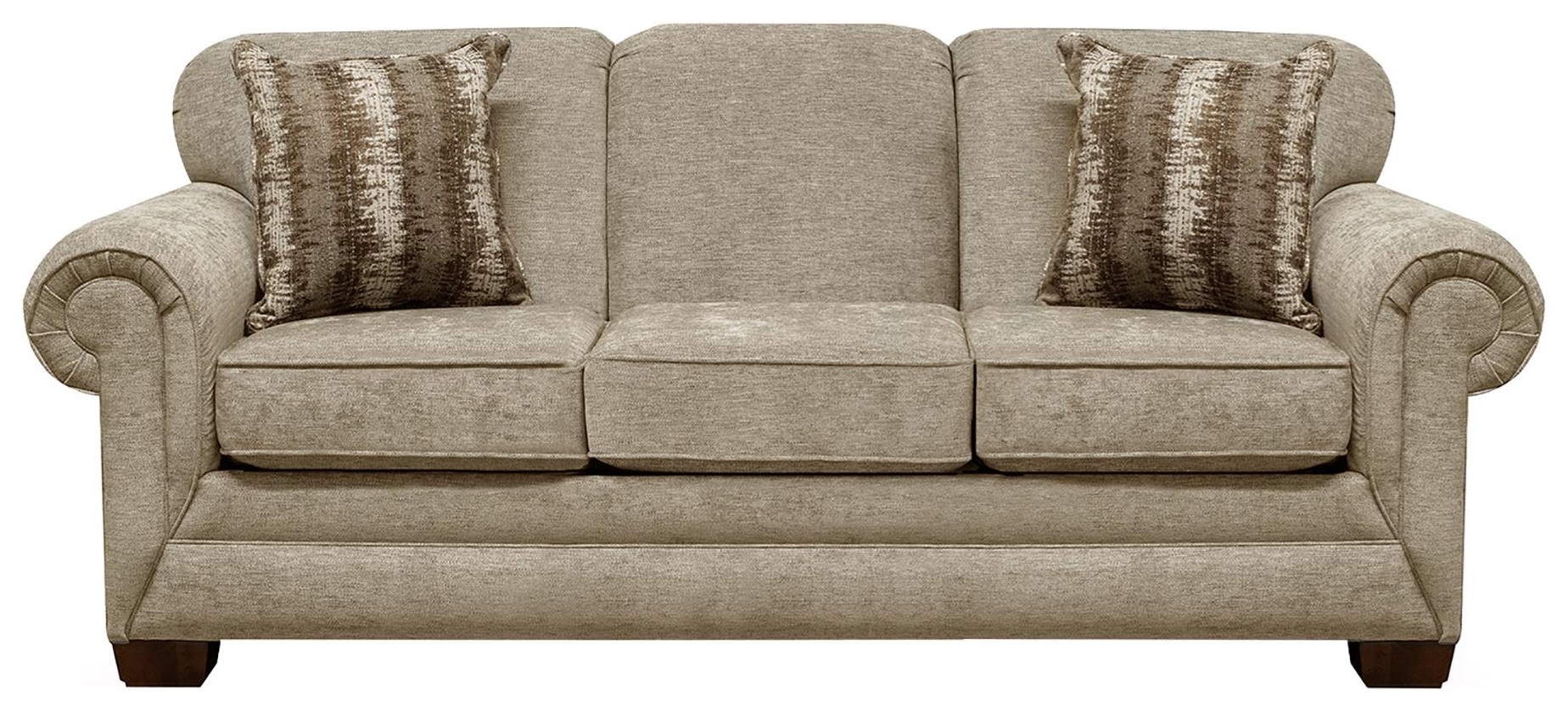 42504 Queen Sleeper Sofa by England at Sadler's Home Furnishings