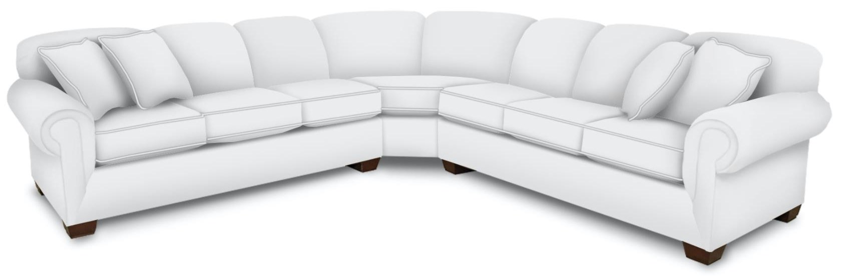 3 PC Super Wedge Sectional