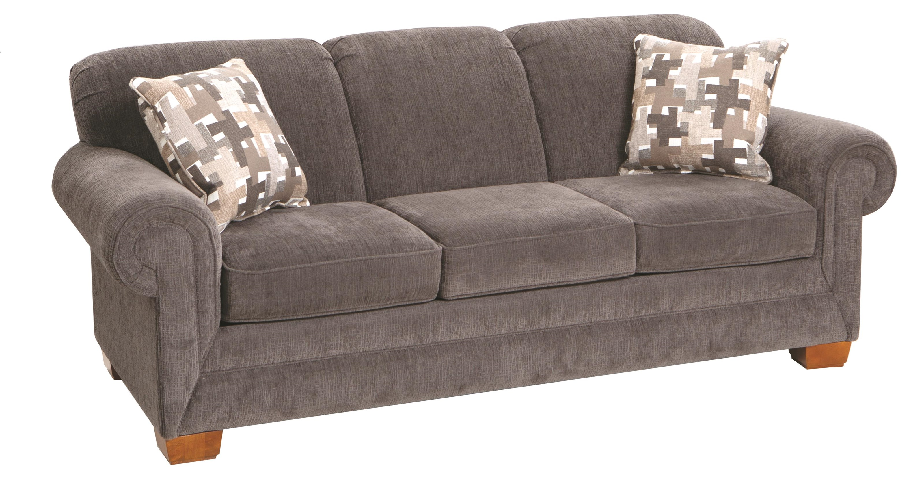 "1435 87"" Sofa by England at Darvin Furniture"