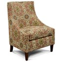 England 2230 Devin Chair - Item Number: 2234-Gypsy Poppy