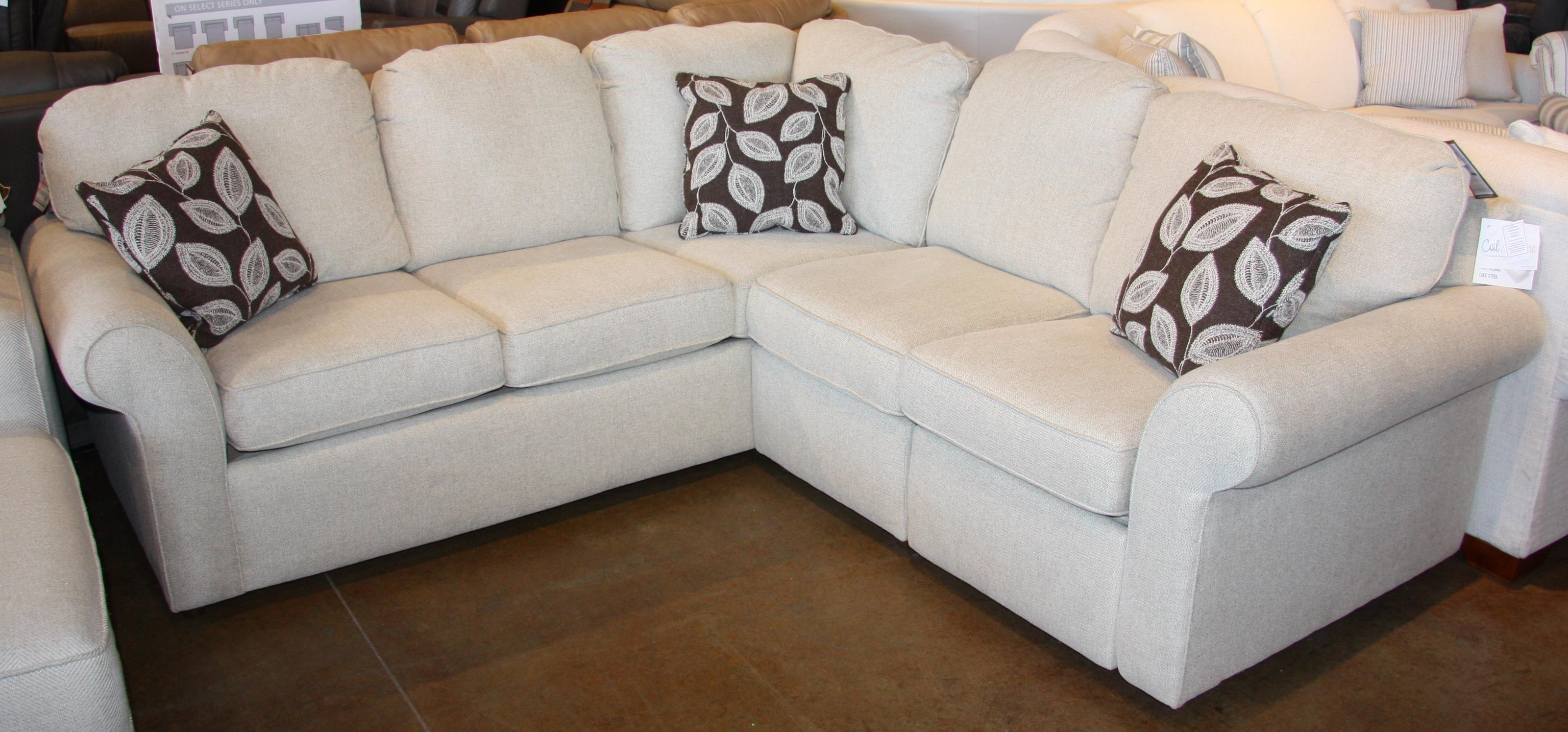 2 PC Sectional with Power Recliner