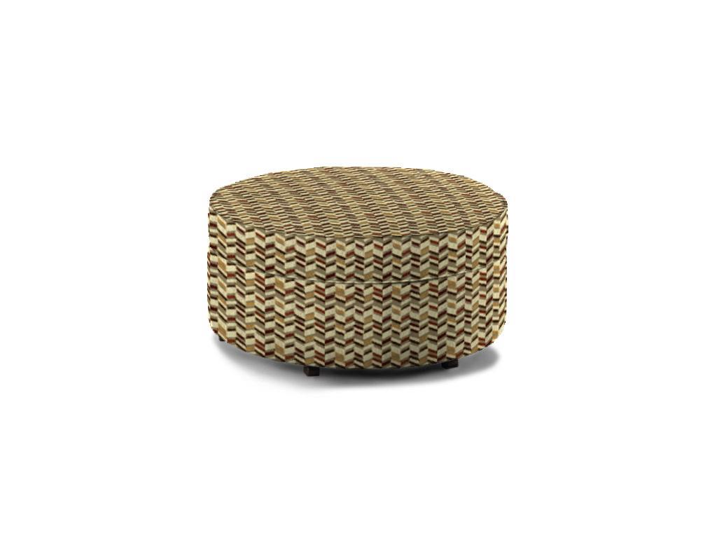 Midtown Upholstered Storage Ottoman by England at Dunk & Bright Furniture