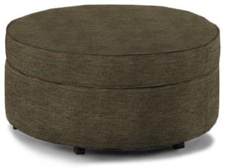 Round Storage Ottoman