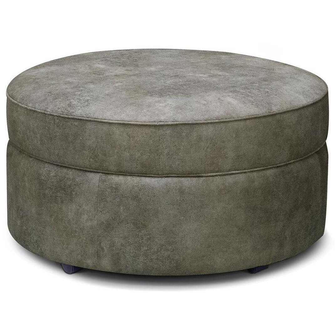 Midtown Upholstered Storage Ottoman by England at VanDrie Home Furnishings