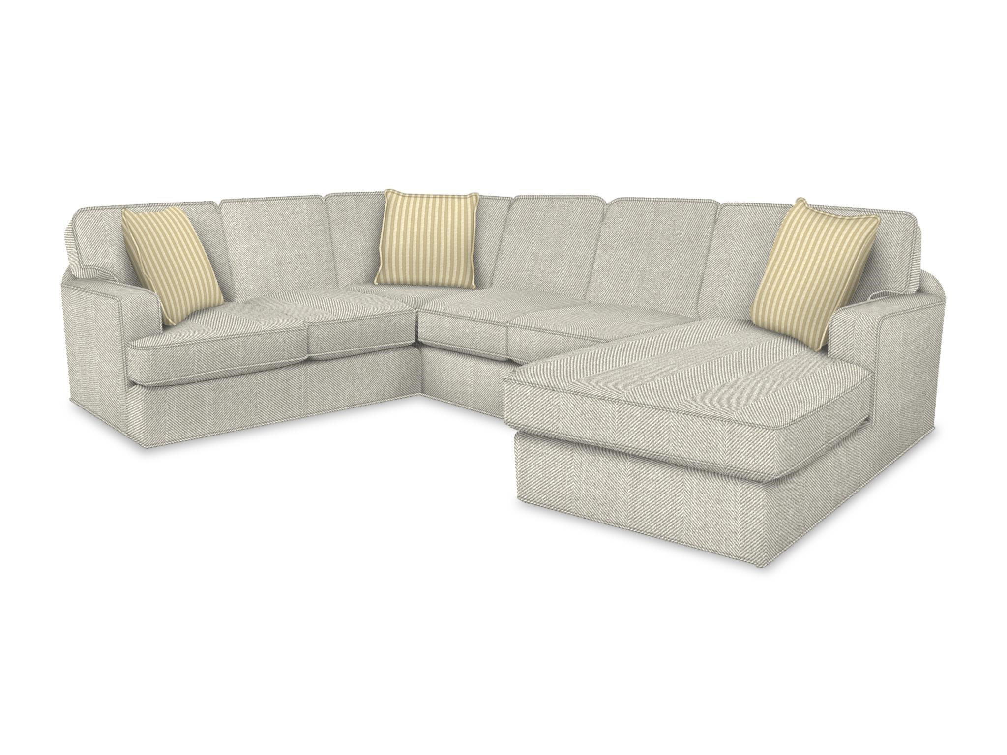 England Rouse Sectional Sofa - Item Number: 4R00-05+43+64