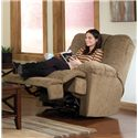 England 5610 Miles Rocker Recliner with Power for Casual Family Room Comfort - Recliner Shown May Not Represent Exact Features Indicated