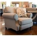 England Layla Chair - Item Number: 5M04N GRANDE-PEWTER