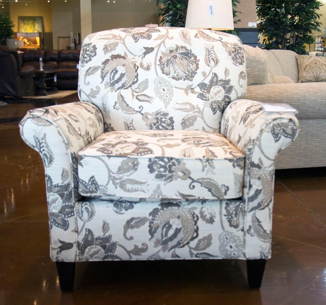 England Layla Wolcott Accent Chair - Item Number: 8454 WOLCOTT-PORTABELLO