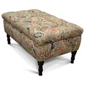 England Julia Storage Ottoman - Item Number: 5T00-81-Fiaba-Ash