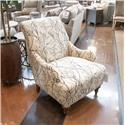 England Kelsey Chair  - Item Number: 8834 FK ISLA-EBONY