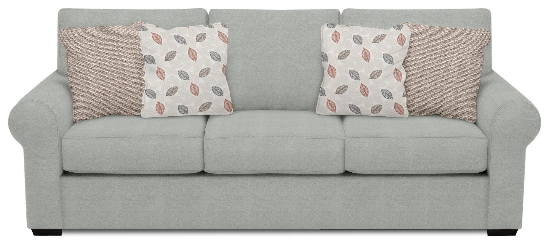Telluride Sofa with Dropdown Tray by England at Crowley Furniture & Mattress
