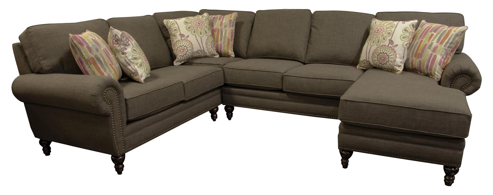 England Amix Five Seat Sectional Sofa